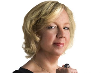 Deborah Meaden - Make up and hair by Vicky Newman hair and make up